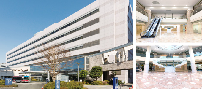 Exterior and In-house View of the West Wing of the Innovation Center Building